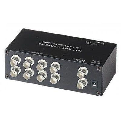 CD108HD 1 x 8 HD-TVI/AHD/HDCVI/CVBS Video Distributor