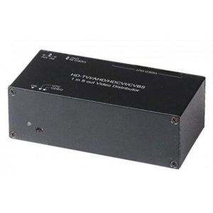 CD108 HD video processor 1 Video Input to 8 Video Output